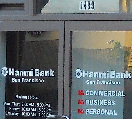 Hanmi Bank 1469 Webster St San Francisco, CA Banks - MapQuest