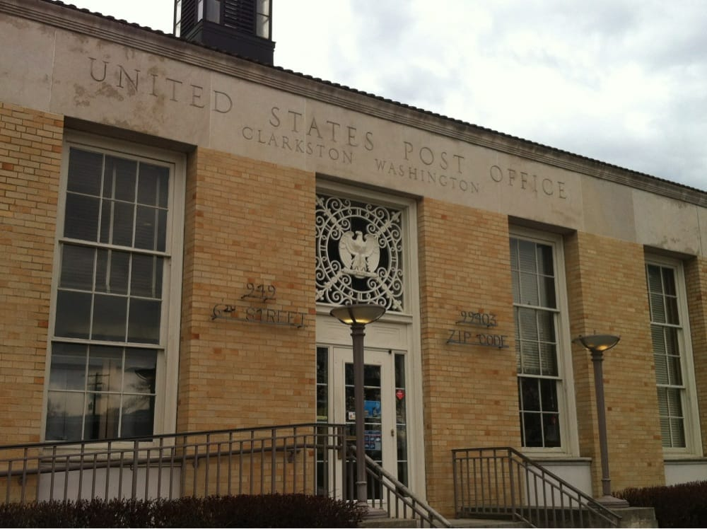 US Post Office: 949 6th St, Clarkston, WA