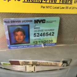 nyc tlc driver license status