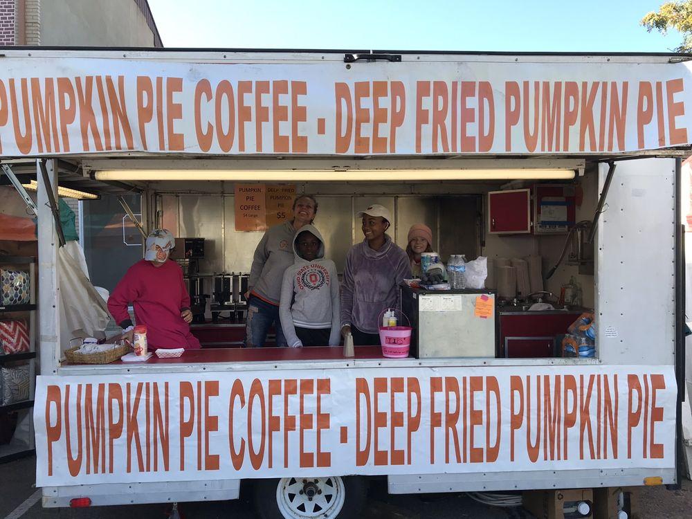 Pumpkin Pie Coffee-Deep Fried Pumpkin Pie: W Main St, Circleville, OH