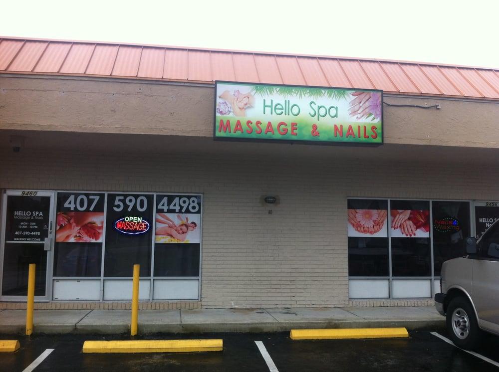 Hello spa massage nails massage 9460 east colonial for A new image salon orlando