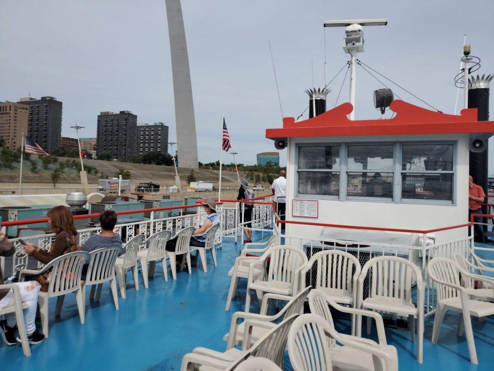 Gateway Arch Riverboats: 50 S Leonor K Sullivan Blvd, Saint Louis, MO