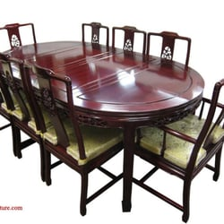 Photo Of Red Leaf Oriental Furniture   Chicago, IL, United States. Rosewood  Dining