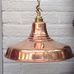 Photo Of Bespoke Copper Lighting Sheffield South Yorkshire United Kingdom