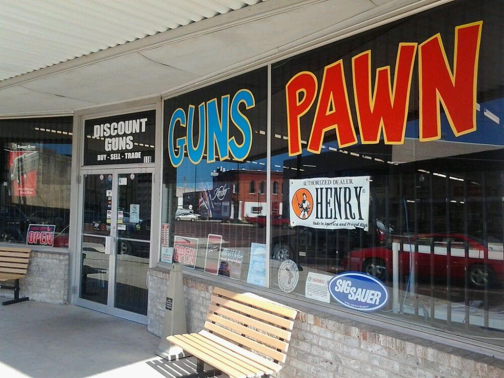 Discount GUNS Pawn: 116 W Paul Ave, Pauls Valley, OK