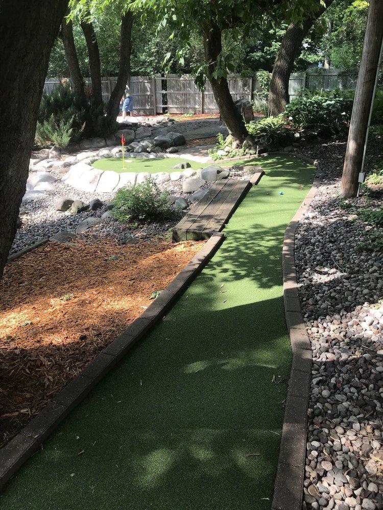 Adventure Falls Miniature Golf: 572 Bench St, Taylors Falls, MN