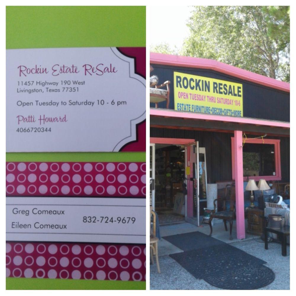 Rockin Estate Resale: 11457 US Hwy 190 W, Livingston, TX