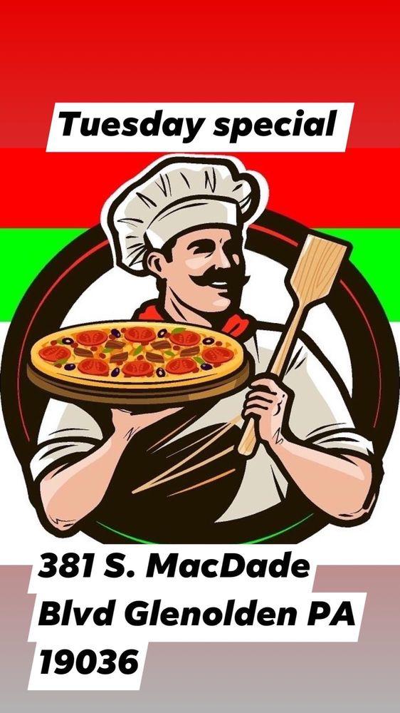 Piazza Napoli Pizza: 381 S Macdade Blvd, Glenolden, PA