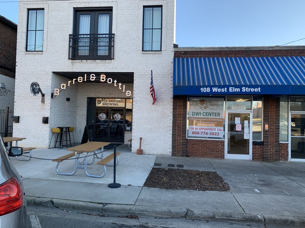 Little Brother Brewing - Barrel and Bottle: 106 W Elm St, Graham, NC