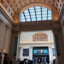 Chicago Union Station Map on