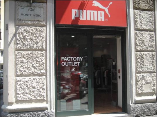 puma outlet milano