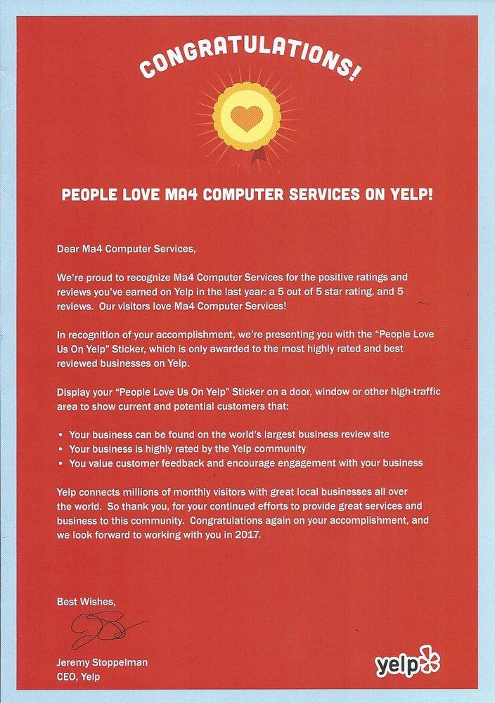 MA4 Computer Services: Martinez, CA