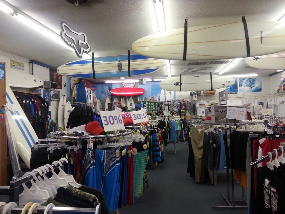 Bert's Surf Shop: 800 N Lake Park Blvd, Carolina Beach, NC