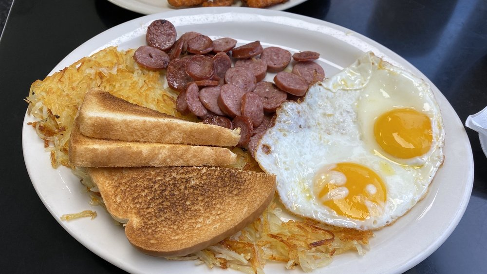 Food from Little Richard's Family Diner