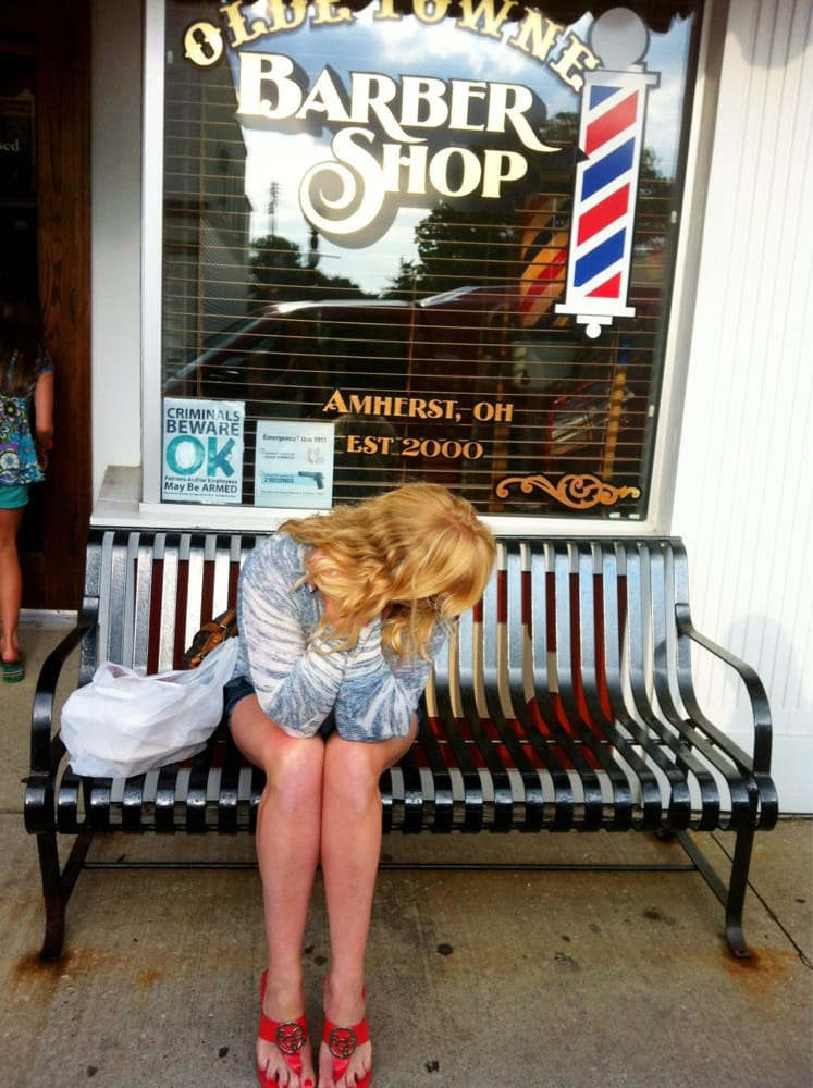 Olde Towne Barber Shop: 239 Church St, Amherst, OH