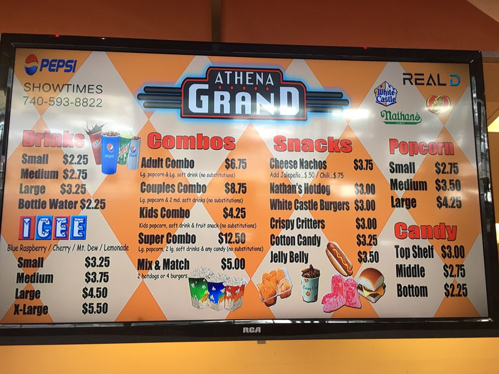 Social Spots from Athena Grand Movie Theater