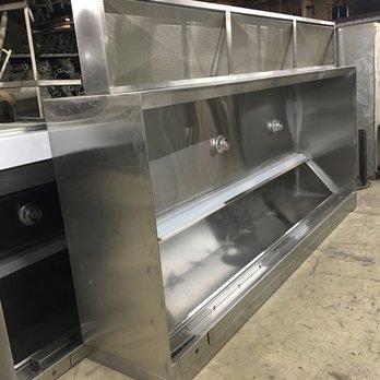 Custom Kitchen Hood W/ Stainless Steel Perforated Plenum - Yelp