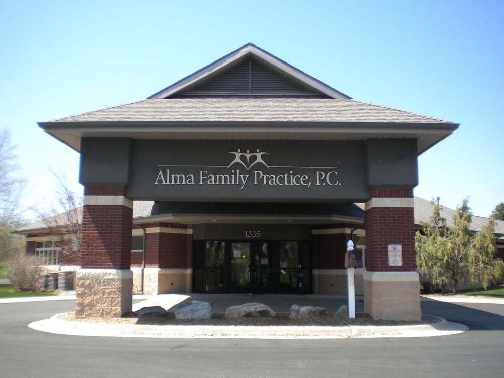Alma Family Practice, PC: 1335 N Pine Ave, Alma, MI