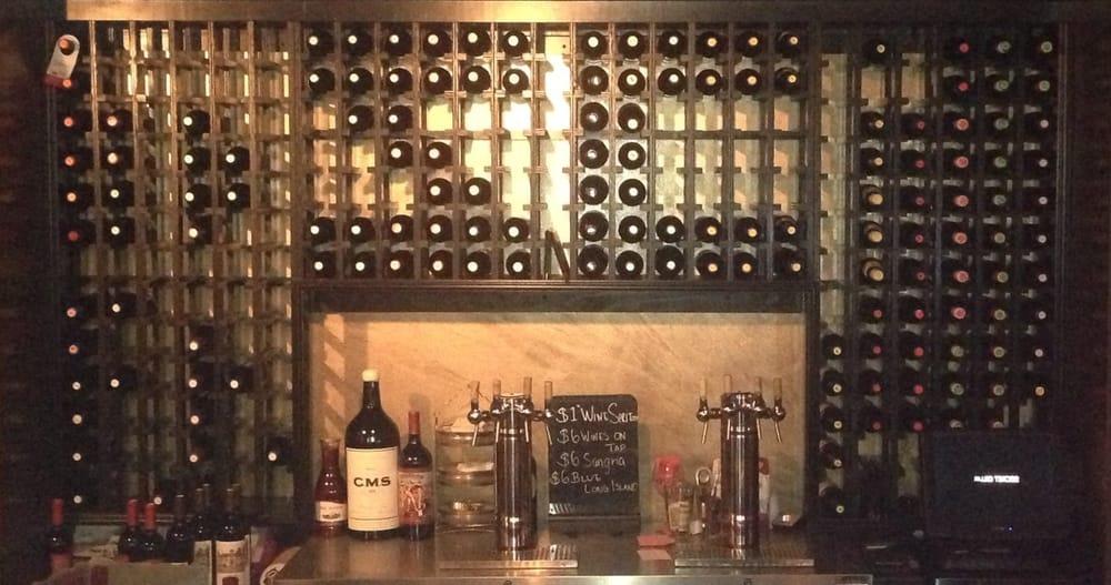 Secret Messages u0026quot;SCu0026quot; in the Secret Cellar wine rack!  Yelp