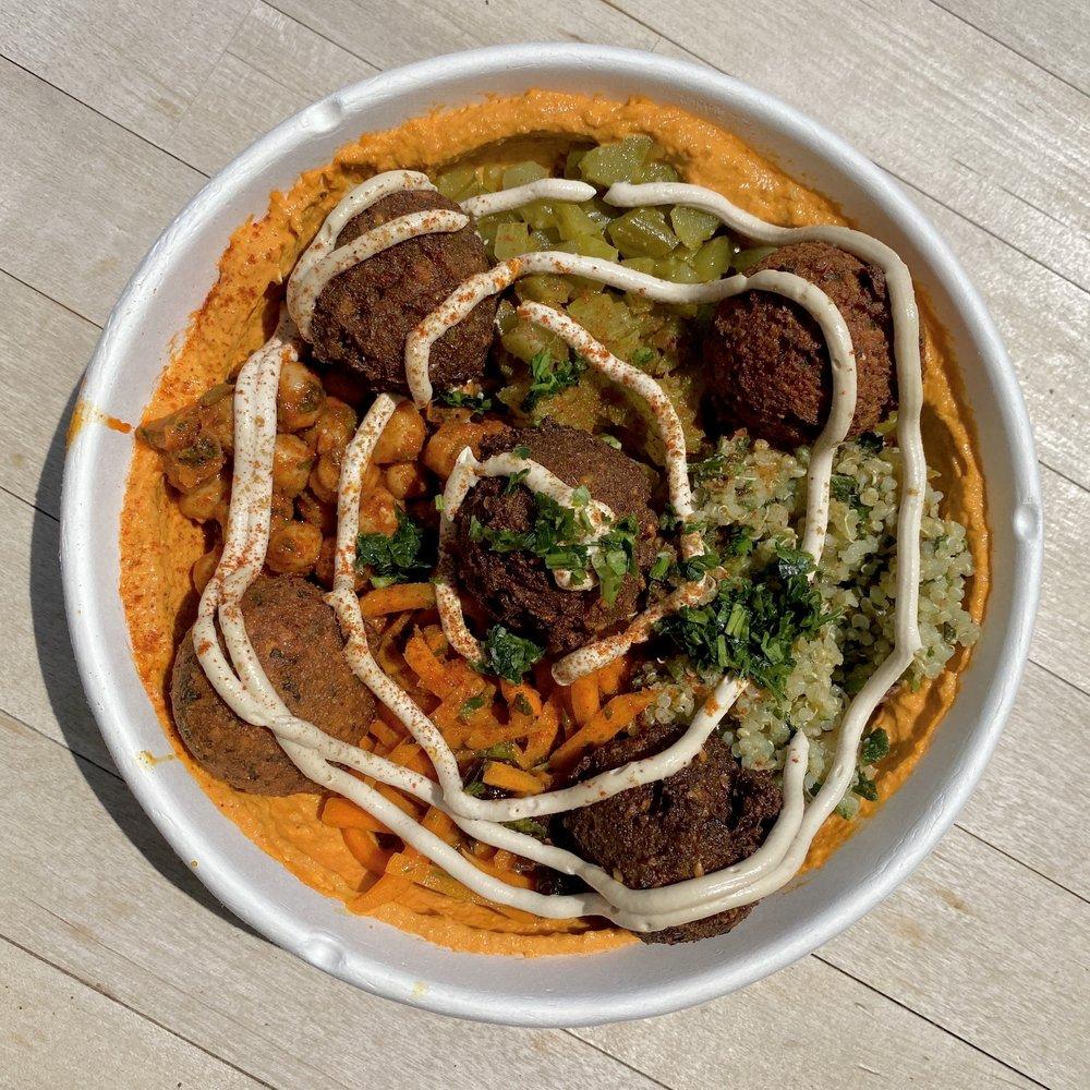 Yalla Organic Hummus & Grill Fairfield