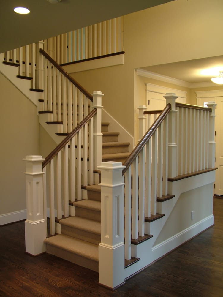 Contemporary Wood Square Balusters Yelp