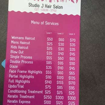 Studio J Salon  Make An Appointment   Photos   Reviews  Hair