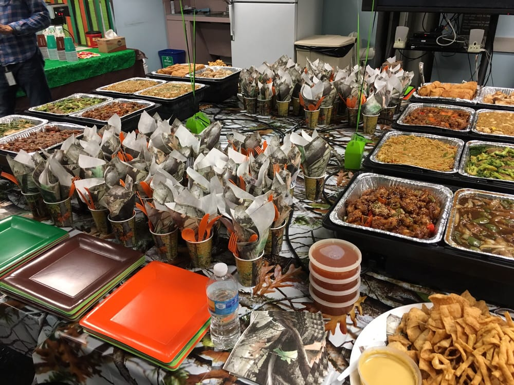 jade island catering for a hunting themed retirement party yelp