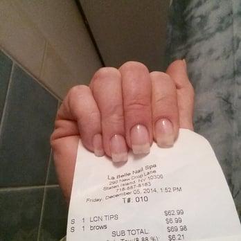 La Belle Nail Spa Prices