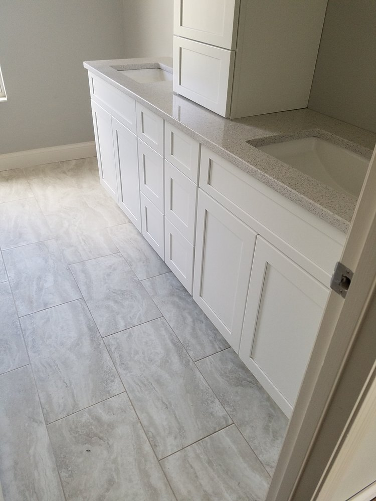 Hard To Believe This Is Luxury Vinyl Tile In This Newly Renovated