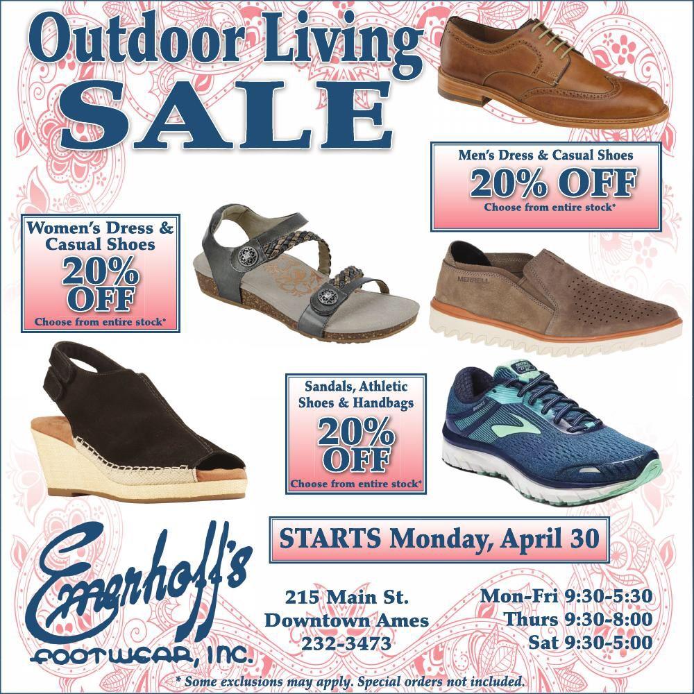 Emerhoff's Footwear: 215 Main St, Ames, IA