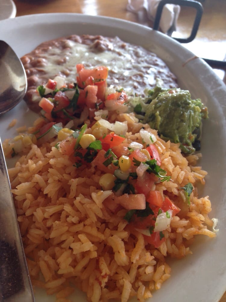 A little light handed with the side dishes yelp for Acapulco loco authentic mexican cuisine
