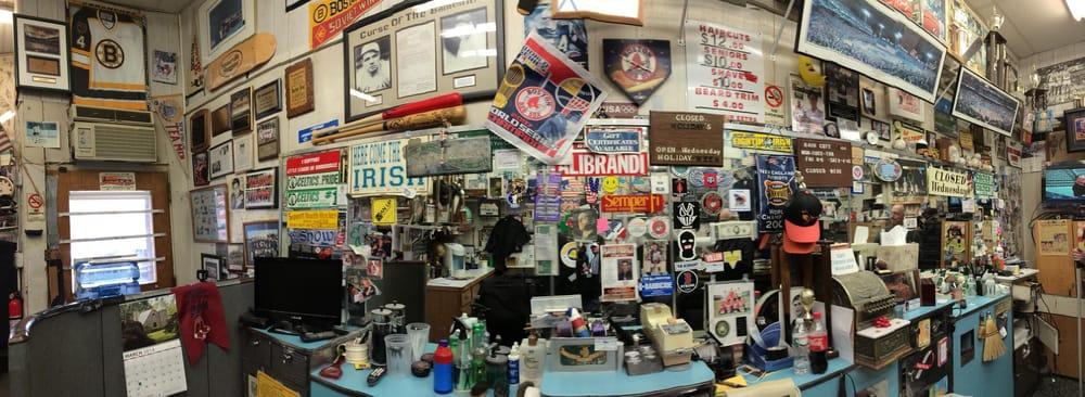Alibrandi's Barber Shop: 194 Holland St, Somerville, MA