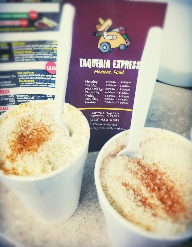 Taqueria Express Mexican Food: 12492 E Hwy 190, Kempner, TX