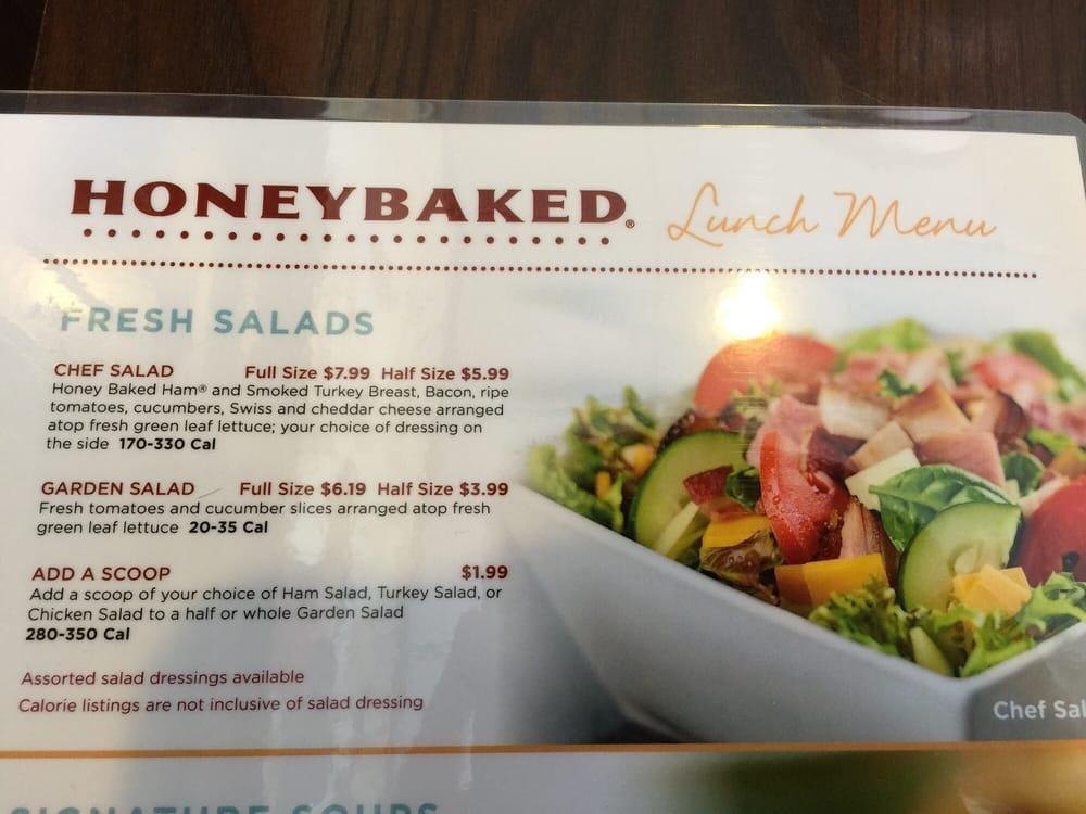 Online Menu of Honey Baked Ham Company
