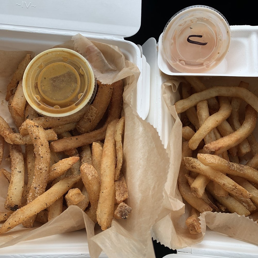 Food from I Love Frys