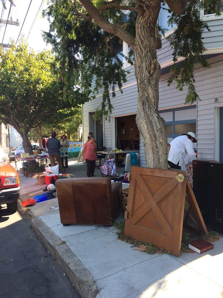 Bernal Heights Hill Wide Garage Sale
