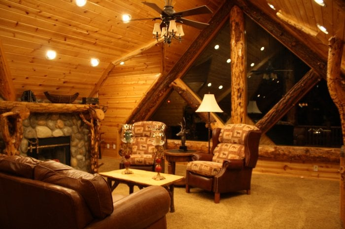 Big Bear Cool Cabins Dreamcastle 3rd Story Common Area