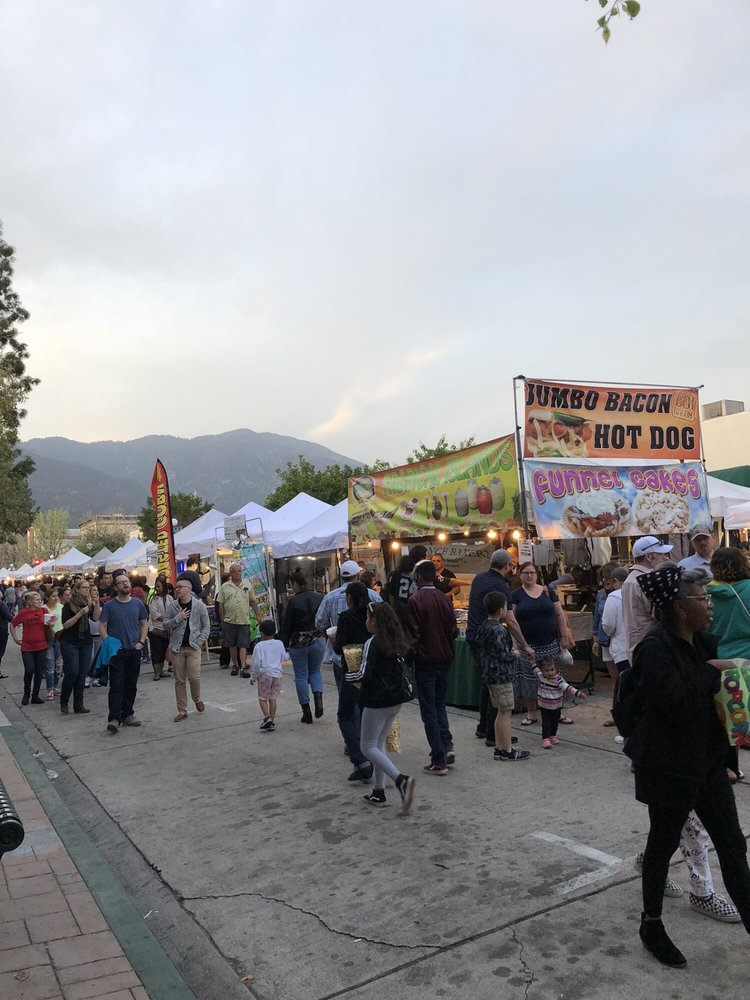Farmer's Market of Monrovia: 612 S Myrtle Ave, Monrovia, CA