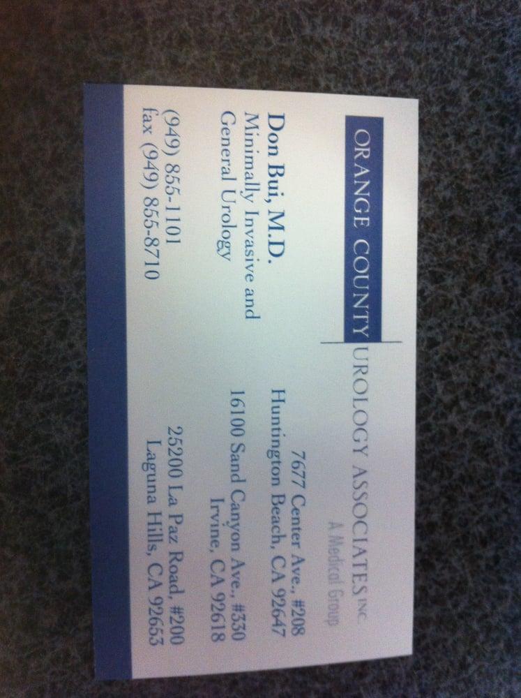 Orange county urology associates business card yelp 11 photos for don t bui md colourmoves