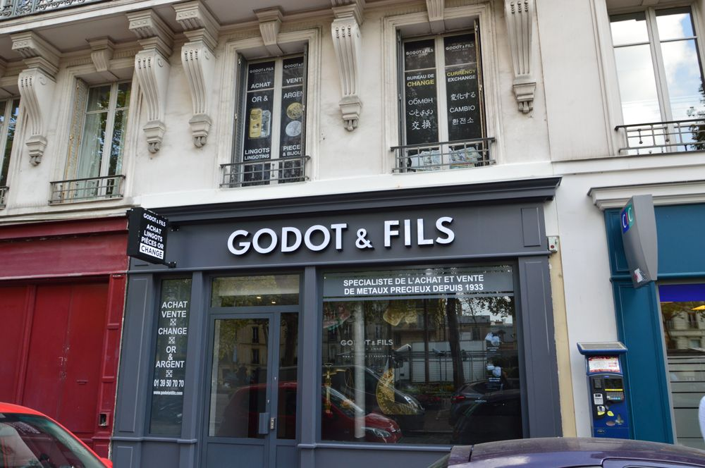 godot fils bureau de change 26 avenue de saint cloud. Black Bedroom Furniture Sets. Home Design Ideas