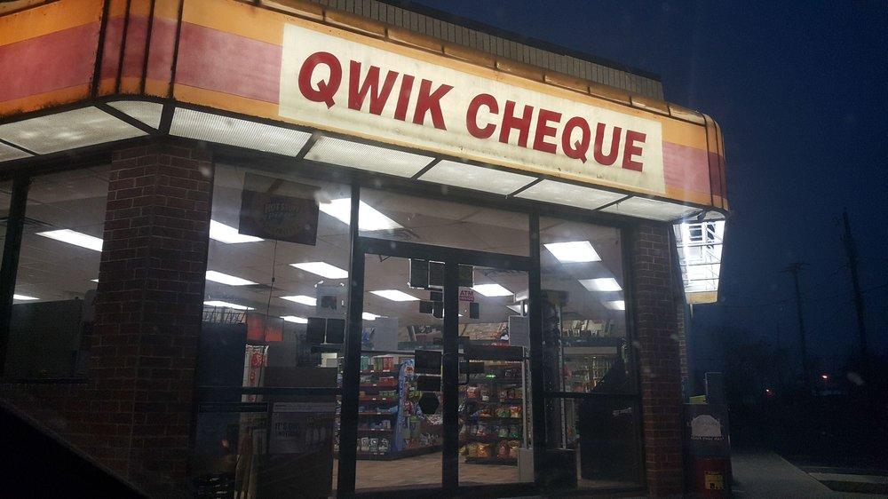 QWIK CHEQUE: 407 W Main St, Honey Grove, TX