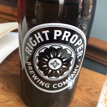 f7fb6cd57 Photo of Right Proper Brewing Company - Washington, DC, United States. Cool  bottle