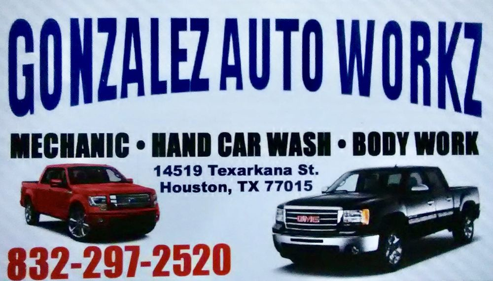 Gonzalez Auto Workz: 14519 Texarkana St, Houston, TX