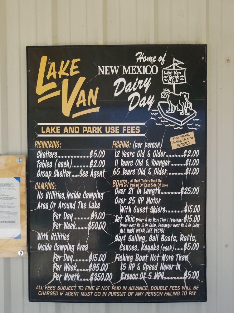 Lake Van Park: 4 Lake Van Dr, Dexter, NM