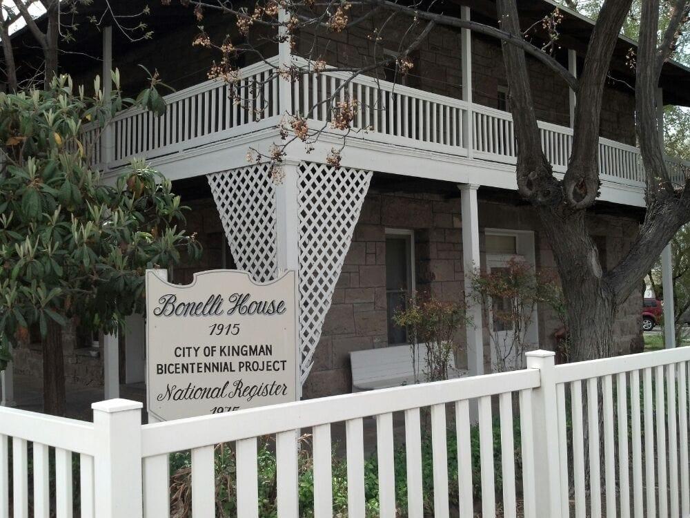 Bonelli House: 430 E Spring St, Kingman, AZ