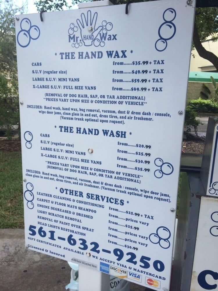 mr hand wax car wash 801 n congress ave boynton beach fl united states phone number yelp. Black Bedroom Furniture Sets. Home Design Ideas