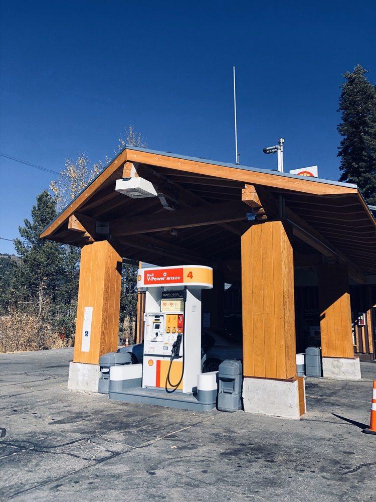 Kingvale Shell: 53102 Donner Pass Rd, Soda Springs, CA