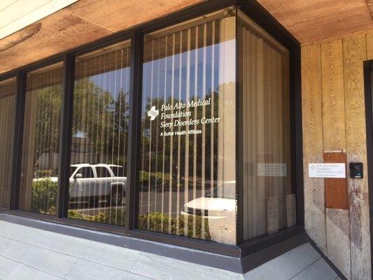 Palo Alto Medical Foundation - Sleep Center 1309 S Mary Ave