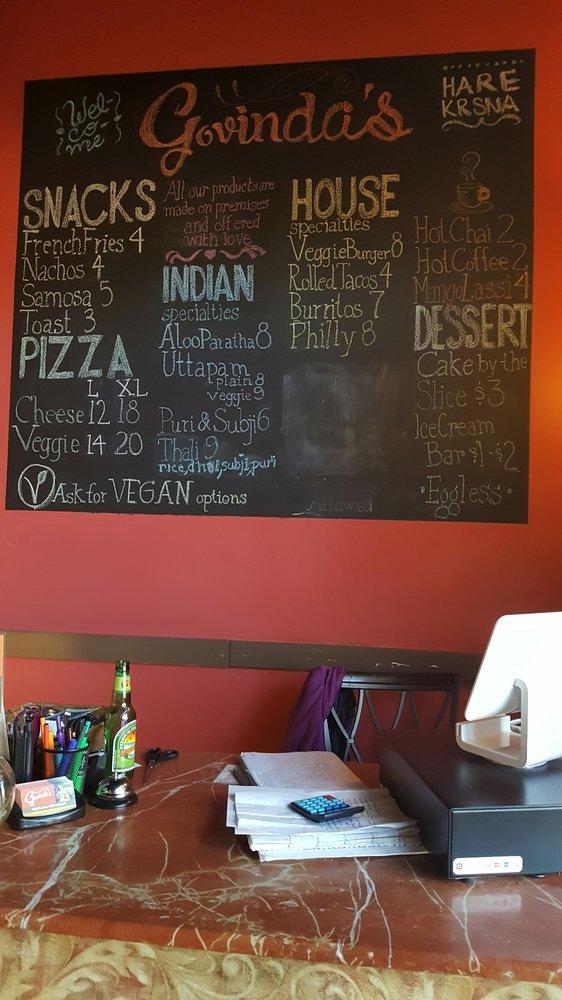 Govinda's Restaurant: 3759 Mccrearys Ridge Rd, Moundsville, WV