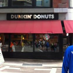 Dunkin Donuts Donuts 750 Washington St Chinatown